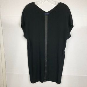 Madewell Tunic black blouse
